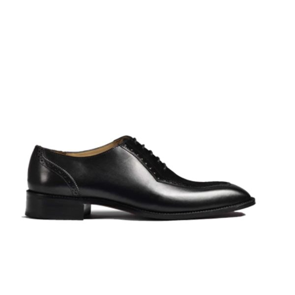 Suede Oxford Lace up Shoes