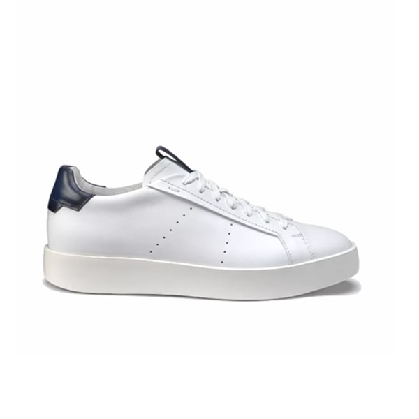 Lace up Smooth White Sneaker 248