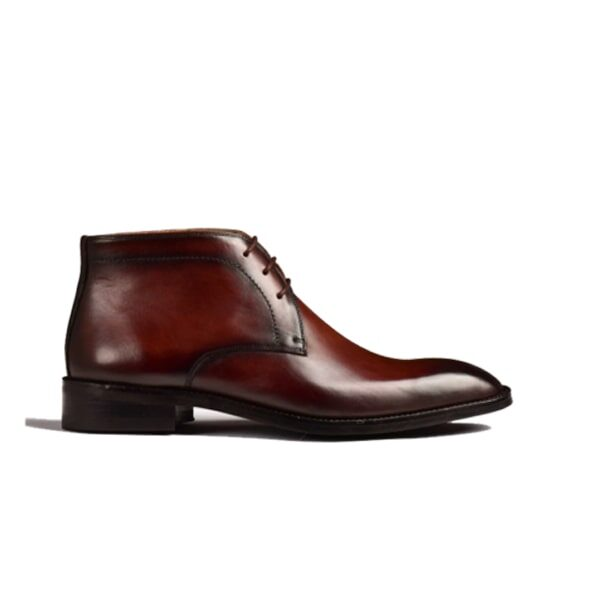 Chukka Brown Leather Boot 239