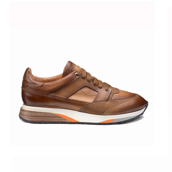 Lace up Tan Sneaker 241