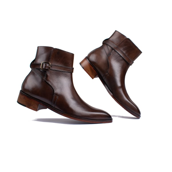 Classic Brown Leather Boots | Italian Boots