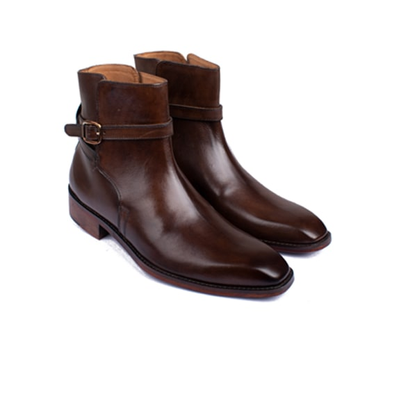 Classic brown leather Boots | Italian shoes men