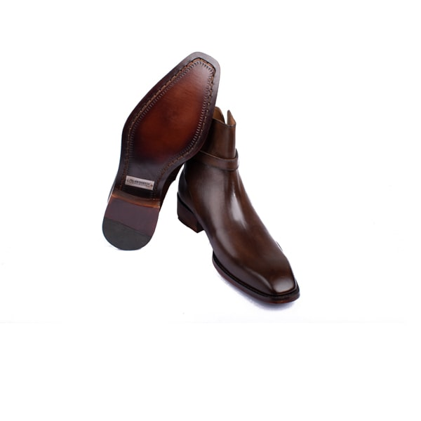 Classic Brown Italian Leather Boots | Itailan handmade shoes