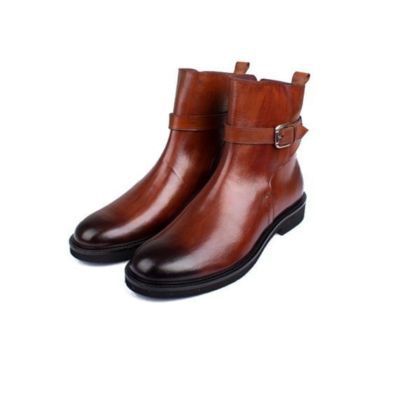 Classic high ankle Boots In Brown | Mens designer shoes