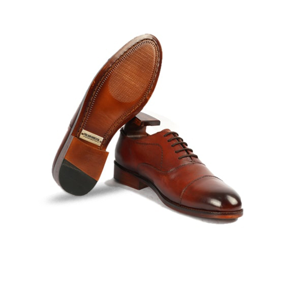 Brown Leather handmade Shoes