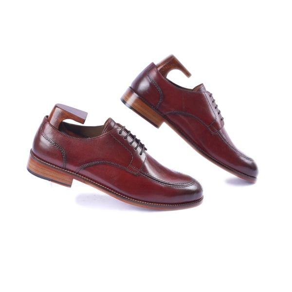 Derby Blucher Burgundy Shoes | Italian shoes for men