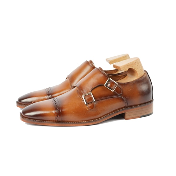 Monk Strap Buckle Wingtip Shoes | wingtips shoes for men
