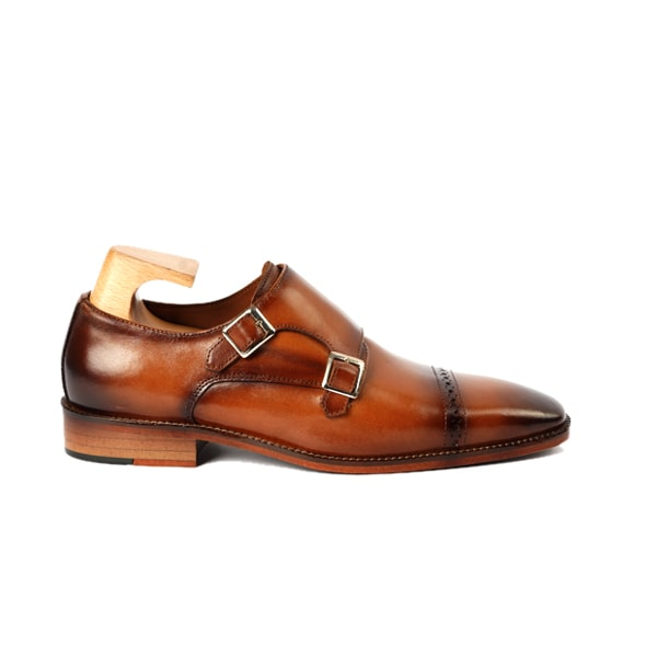 Monk Strap Buckle Wingtip Shoes 439