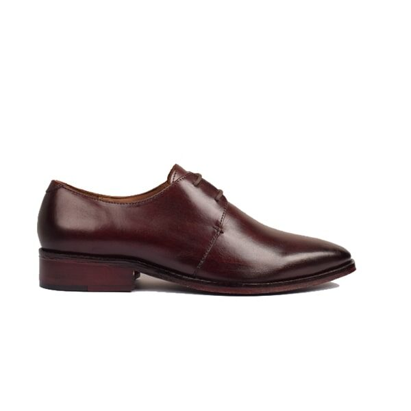 Derbys Blucher Classic Shoes with Blue patent