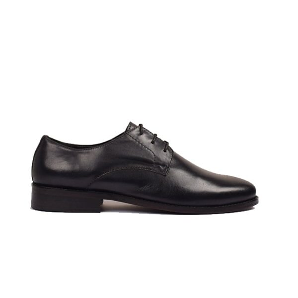 Derbys Blucher Classic Shoes in Black colour