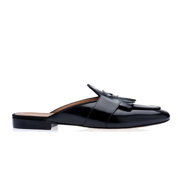 Classic Leather Mules 545