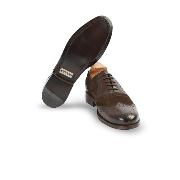 Oxford Brogue Brown Shoes