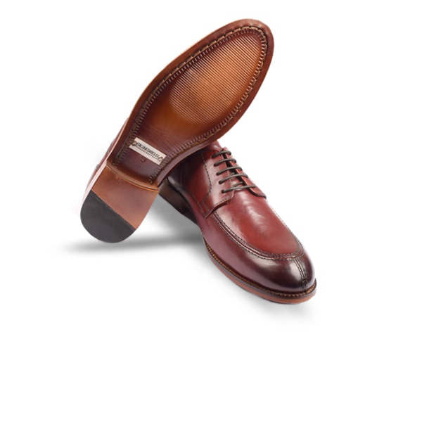Classy Burgundy Leather Shoes