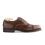 Oxford Brown Suede Leather Shoes 560